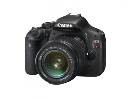 Canon T2i DSLR Camera Package