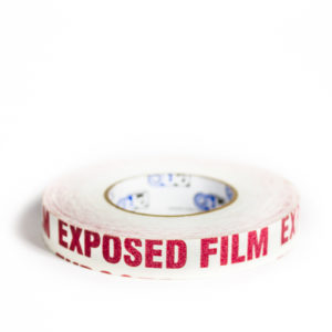 Exposed Film Tape