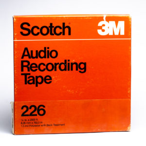 Scotch 3m 2500 Audio Tape-003