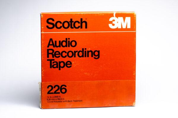 Scotch 3m 2500 Audio Tape-003