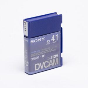 Sony DVCAM-003