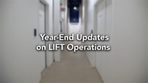 Year-End Updates on LIFT Operations – November 2020