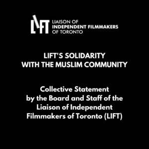 Collective Statement by the Board and Staff of LIFT – Solidarity with the Muslim Community
